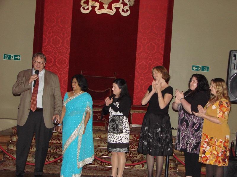2012年・ロンドン(イギリス)のHSにおける会頭挨拶。世界中の研究者が揃う、貴重な場です
